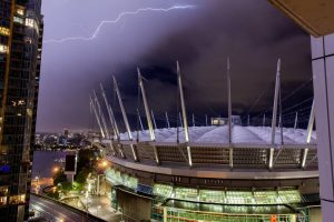 vancouver thunderstorm