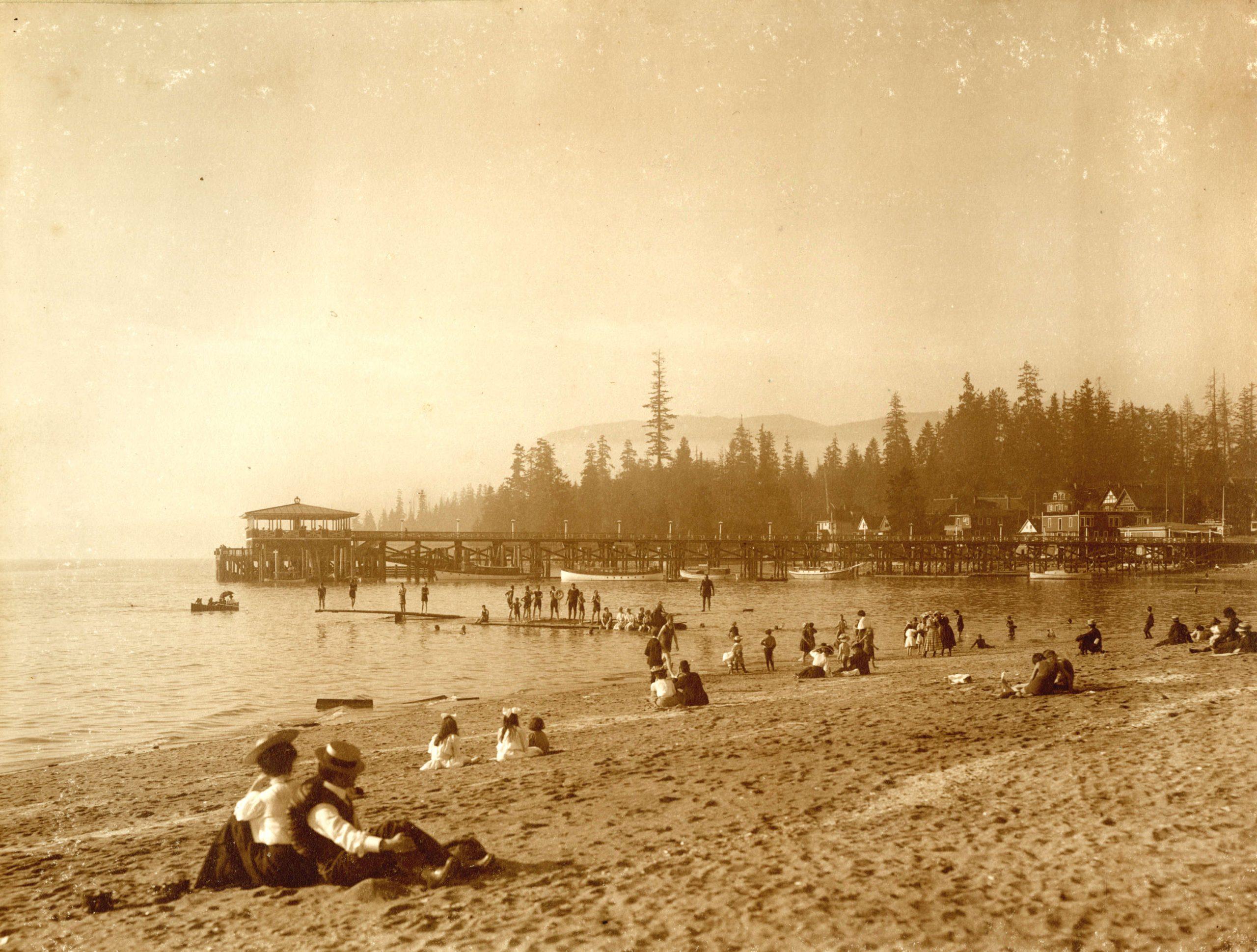 english bay 1910