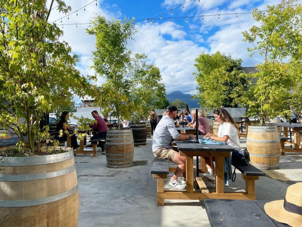 beer garden vancouver patio