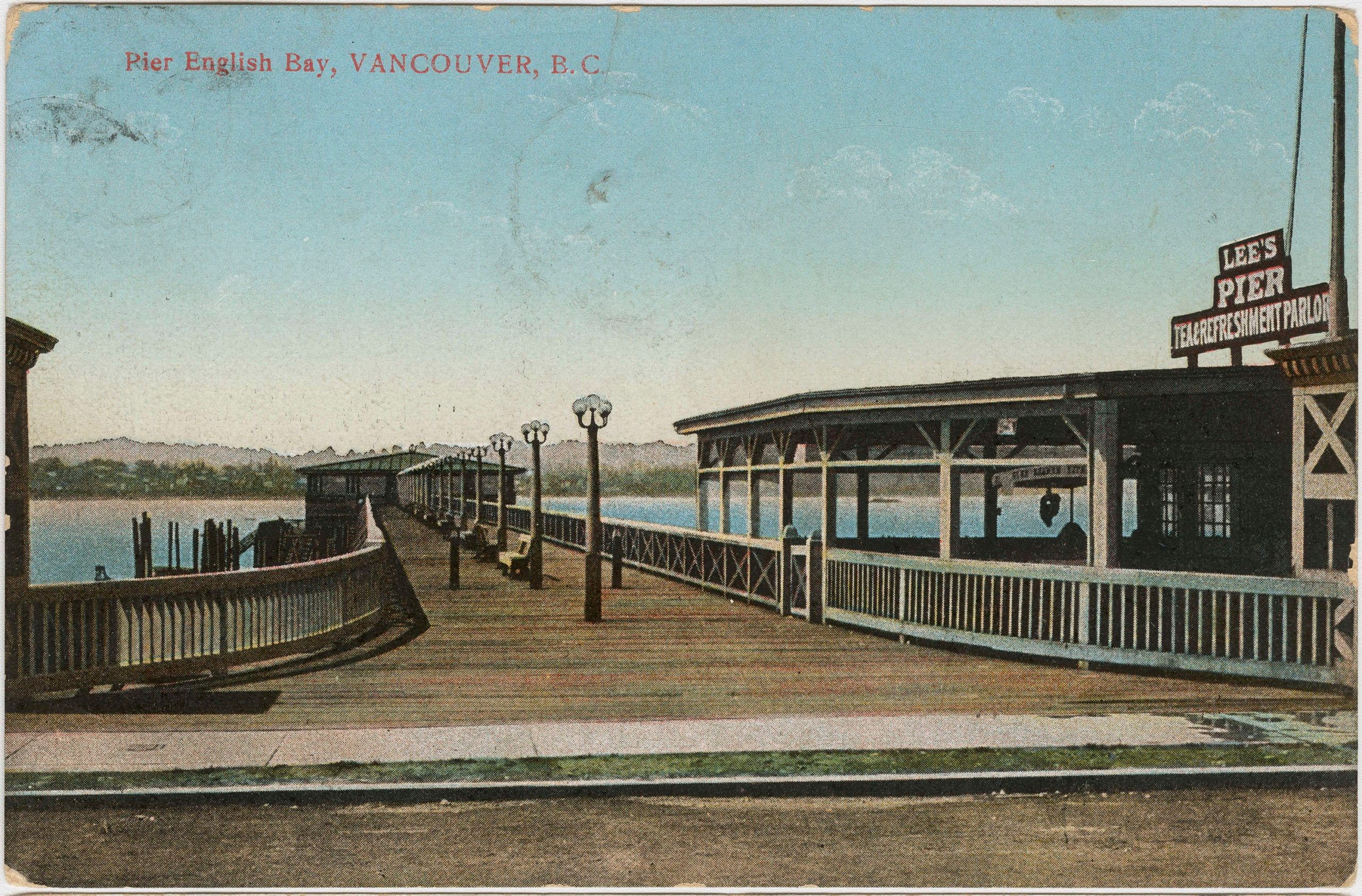english bay pier