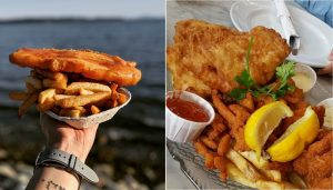 white rock fish and chips