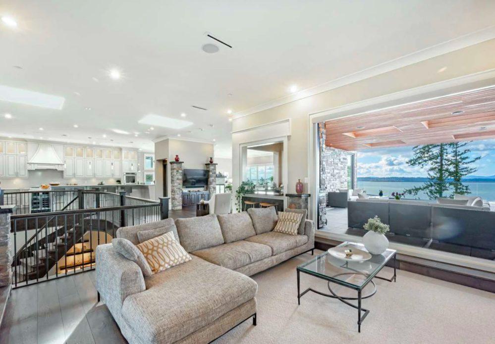 white rock living room