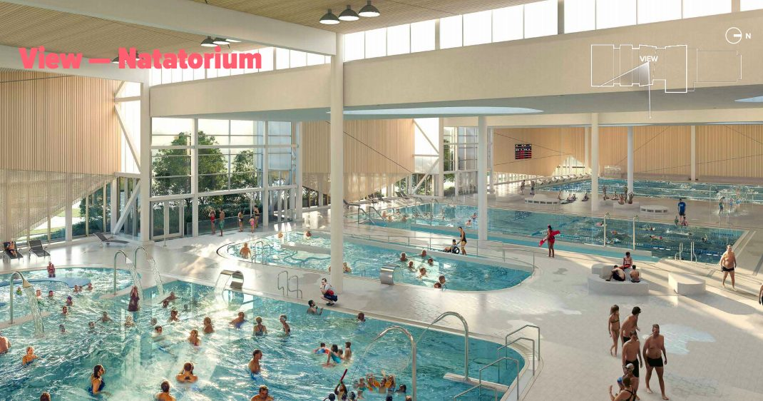 new burnaby aquatic centre