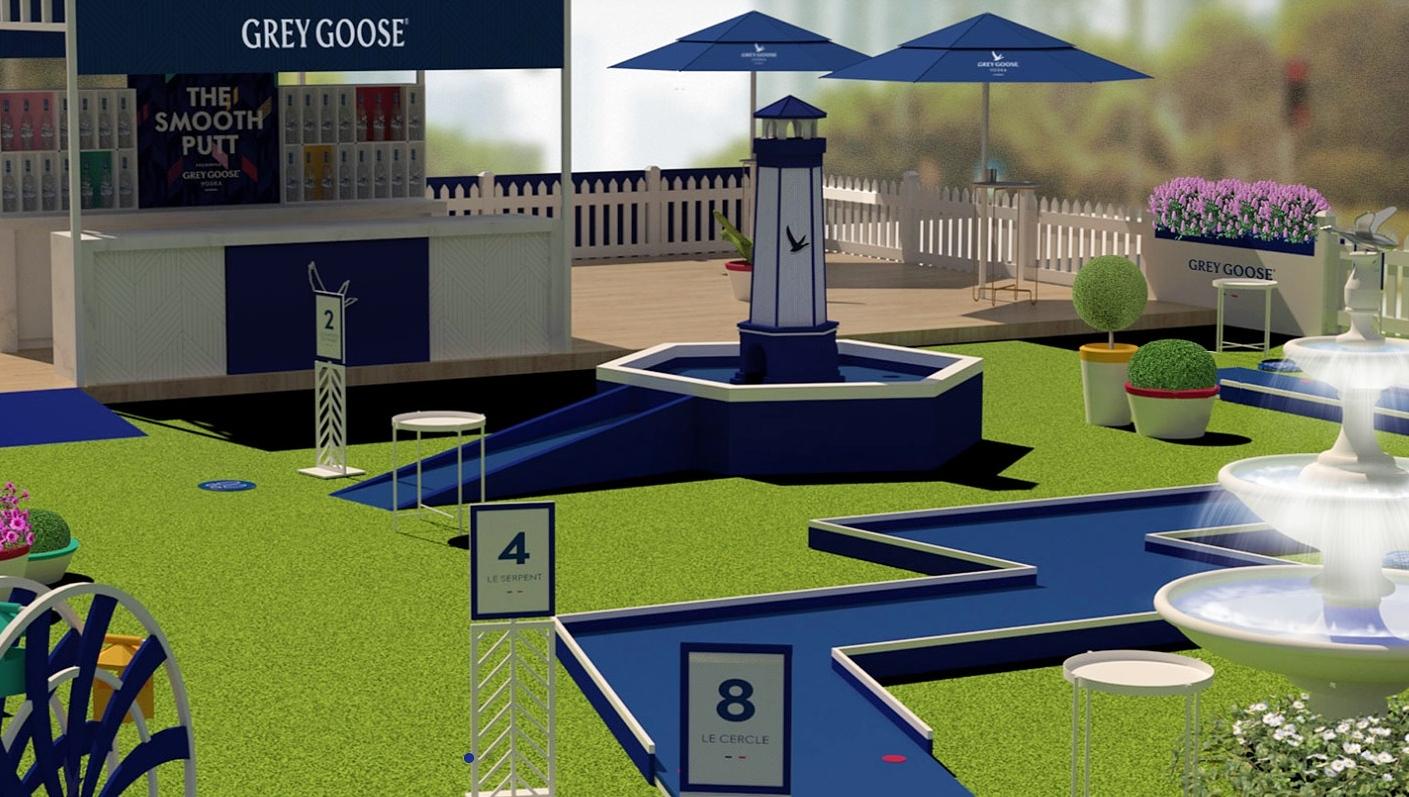 grey goose mini golf