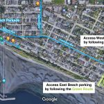 MAP: How To Access The Single Lane White Rock Beach Strip This Summer