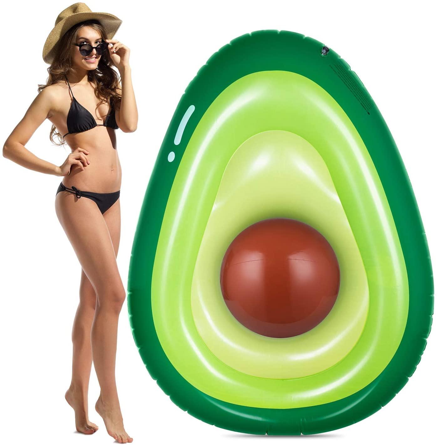 avocado summer floatie