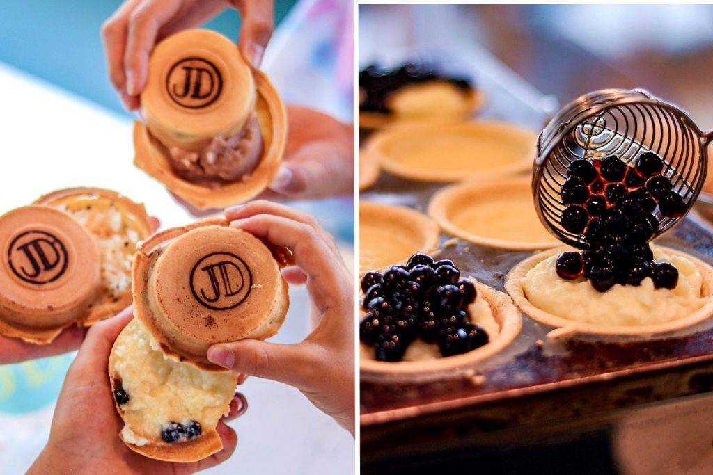 JoDeen Cafe wheel cake
