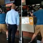 VIDEO: 30 Year Old Man Arrested After 'Violent Outburst' at a Richmond McDonald's