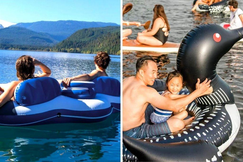 river floaties