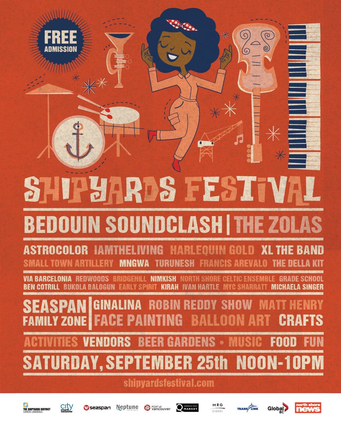 north vancouver shipyards festival
