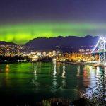 Stunning Northern Lights Captured Over Vancouver Monday Night (Photos)