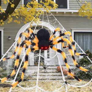 halloween decor spider