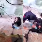 VIDEO: Locals Use Their Turbans To Rescue Stranded Hikers Beside BC Waterfall